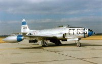истребитель F-80 Shooting Star