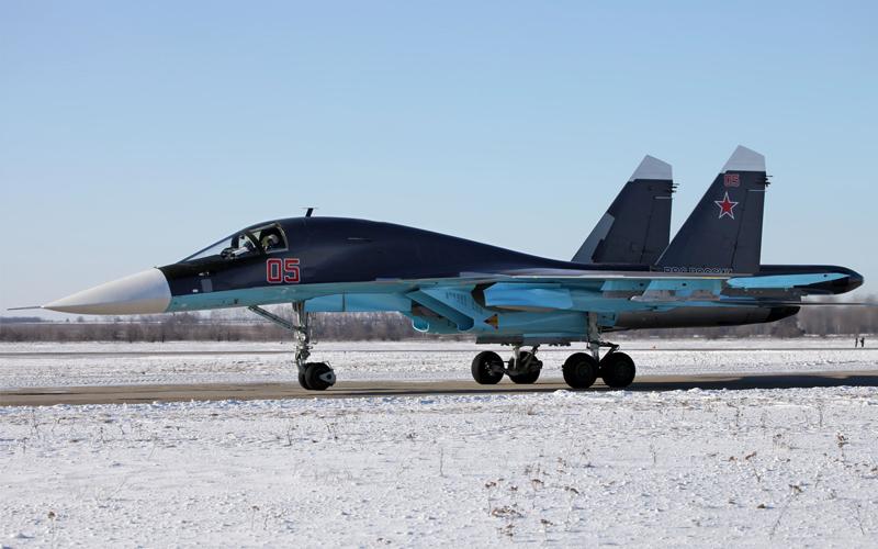 Фронтовой истребитель-бомбардировщик Су-34