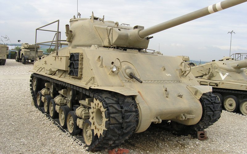 Израильский Super-Sherman M51